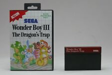 Wonder Boy III / 3 - The Dragon´s Trap für SEGA Master System / MS