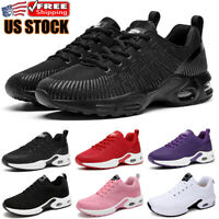 Women's Air Cushion Sneakers Non-slip Athletic Sport Walking Running Shoes Gym