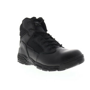 Magnum Stealth Force 6.0 Sz Ct 5312 Mens Black Leather Tactical Boots 7