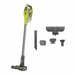 RYOBI Cordless Stick Vacuum Cleaner 18-Volt Plastic Brushless Detachable Battery