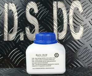 400g HDPE Bottle Carrom Board Boric Powder