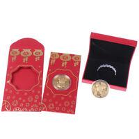 Maus Gedenkmünze Jahr der Ratte liefert Geld Münzen vergoldetYE