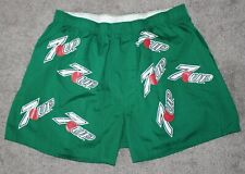 NOS vtg 7UP Green Boxers Men's Large L 7-Up Pop Soda Lemon Lime Thing Promo 90s