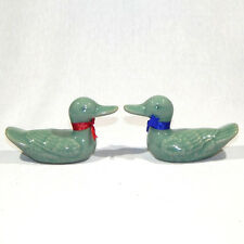 Korean Celadon Wedding Ducks FR022M
