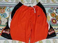 Osu Oregon State Beavers Nike Game Worn Basketball Shorts Team Issued Sz 44 L