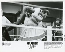 ED O'NEILL LYNN BRAXTON WRESTLING MARRIED WITH CHILDREN ORIG 1990 FOX TV PHOTO