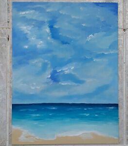 Original Seascape acrylic painting
