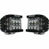 RIGID Industries 262113 D-SS Pro Series Pod Lights Flood Pattern, 1 Pair