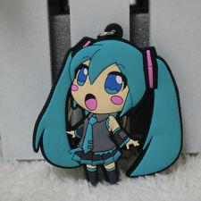 Anime Cute Keychain Gift Bag Pendant Japan Hatsune Miku Car Key Ring Chic Blue