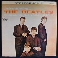 THE BEATLES-Introducing The Beatles~VEE JAY #SR 1062 (foreign pressing)