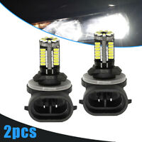 2x 881 LED Replacement Bright White Car Fog Light Bulbs 862 886 889 894 896 898