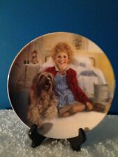 """Vintage Knowles """"Annie & Sandy"""" Limited Edition Collectors Plate"""