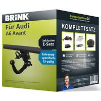 Anhängerkupplung BRINK abnehmbar für AUDI A6 Avant +E-Satz NEU AHK