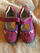 Umi Shoes Pink Suede 27 uS 10.5m