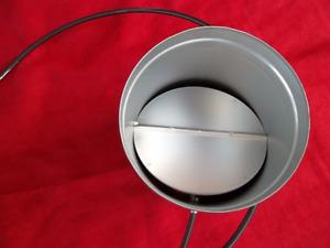 Luftklappe Ø 100 125 150 mm Regulierung der Luftzufuhr am Kamin Zuluft Klappe