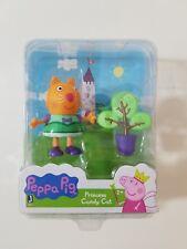 Peppa Pig Princess Candy Cat w/Tree Figurine Toy Mini Play Set