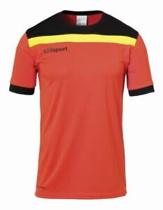 Uhlsport Football Soccer Kids Goalkeeper Kit Short Sleeve SS Shirt Jersey Shorts