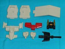 original G1 Transformers SUPERION PARTS LOT #29 ramp r+l fist foot blast shield