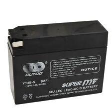GT4B-5-BS MF Motorcycle Battery for Yamaha TTR50E SR400 Suzuki DR-Z70 Honda BMW