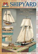 Shipyard 38: Baltimore Clipper Berbice in Shipyard Quay-Port 1:96