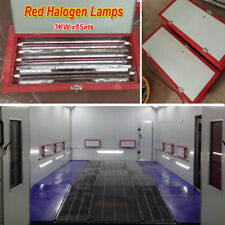 3KW Halogen Spray/Baking Booth Infrared Paint Curing Lamps Heater Heating Lights