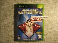 Star Wars Jedi Starfighter Xbox Space Combat Game