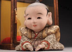 Japanese Antique Fukusuke Doll Edo Era