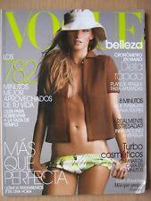 Vogue Belleza Espana Numero 26 magazine Gisele Bundchen