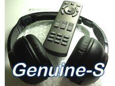2012-2014 Lexus LX570 LS460 LS460L 600 Car Rear Entertainment Remote & headphone