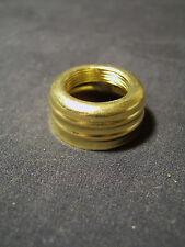 Victorian Brass Double Ring Nutmeg Miniature Burner size Brass Oil Lamp Collar