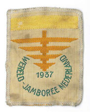 1937 World Scout Jamboree OFFICIAL PARTICIPANTS SUBCAMP I (YELLOW BAR) Patch