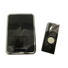 WIRE FREE HOME WIRELESS DIGITAL DOOR BELL CHIME SET KIT 36 TUNES SOUNDS CORDLESS