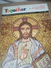 Vintage TOGETHER For Methodist Church Christian Families Magazine 1958 March