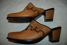Womens Sonora Double H Cowgirl Bismark Snip Toe Mule Western DH044A Size 10M F1