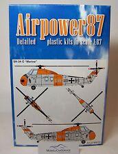 "Airpower87 (H0): 221600131 Sikorsky SH-34G Bundesmarine ""SAR"" - Bausatz"