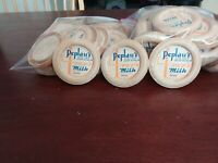 VINTAGE LOT OF MILK BOTTLE CAPS FROM PEPLAU'S DAIRY NEW BRITAIN CT