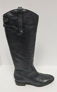Sam Edelman Penny Riding Boots, Ink Navy Leather, Women's 9.5 M