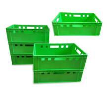 6 Stück E2 Stapelbox Gemüsekiste Vorratsbox Lagerbox lebensmittelecht hellgrün