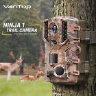 VanTop Ninja Wildlife Trail Camera 20MP 1080P Video Hunting Cameras Night Vision