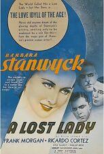 A Lost Lady - 1934 - Barbara Stanwyck Frank Morgan - Vintage Drama Film DVD