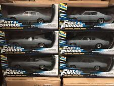 1:18 Fast and Furious A Case of 6, 1970 Chevelle SS Gray Primer by JL