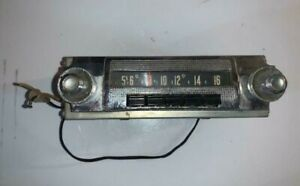 1957 58 DODGE Full Size Radio with knobs OEM part # 845 Mopar Plymouth Chrysler