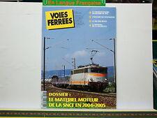 Revue VOIES FERREES 149 - Materiel Moteur SNCF 2005 - Record 1955 - BB 9004 Roco