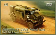 CHEVROLET C60S WATER TANK (WW II CANADIAN BUILT BRITISH ARMY TRUCK) 1/35 IBG NEW