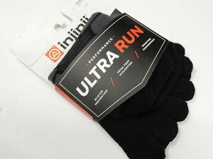 Injinji Ultra Run No Show Onyx XL