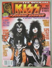 1999 KISS PSYCHO CIRCUS TOUR MAGAZINE with POSTER INTERVIEWS GENE PAUL ACE PETER