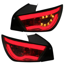 LED Lightbar Rückleuchten Set für Seat Ibiza 6J Bj. 2008-2015 Smoke