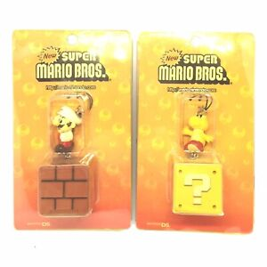 *RARE* Nintendo DS Vintage New Super Mario Bros Figure Keyring Japan Merchandise