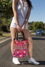 Genuine Embroidered Vintage Tribal BOHO handbag, tote bag, shoulder bag everyday