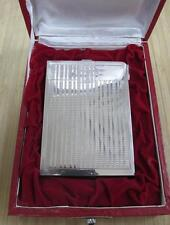 Vintage Sterling Silver Cigarette Case Compact Lighter 192.6grams ~ STORAGE-5642